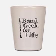 Clarinet Band Geek Shot Glass