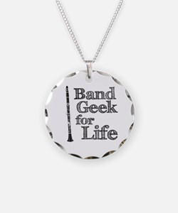 Clarinet Band Geek Necklace