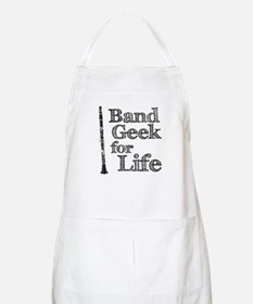 Clarinet Band Geek Apron