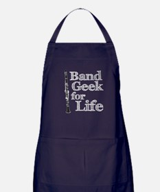 Clarinet Band Geek Apron (dark)
