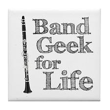 Clarinet Band Geek Tile Coaster
