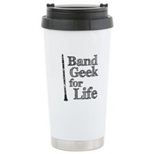 Clarinet Band Geek Travel Mug