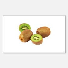 Kiwi Fruit Sticker (Rectangle)