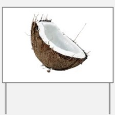 Coconut Yard Sign
