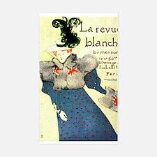 Toulouse Lautrec Art Sticker (Rectangle)