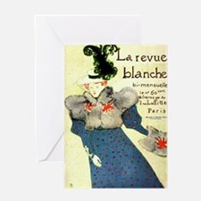 Toulouse Lautrec Art Greeting Card