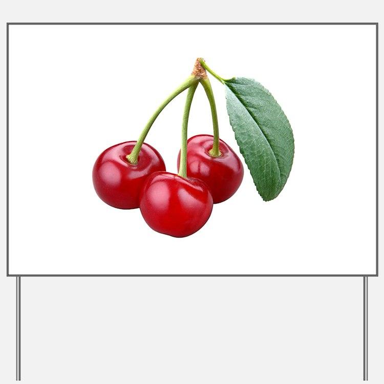 Cherries Cherry Yard Sign