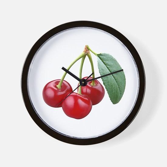 Cherries Cherry Wall Clock