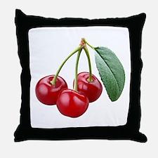 Cherries Cherry Throw Pillow