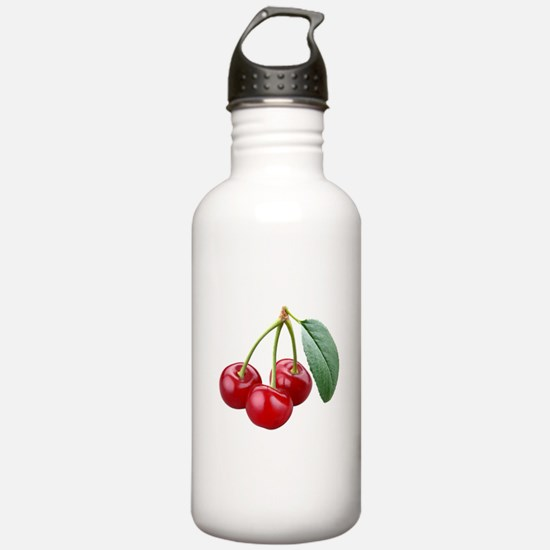 Cherries Cherry Water Bottle
