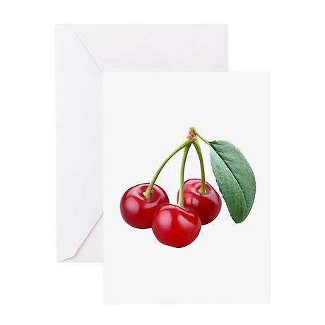 Cherries Cherry Greeting Card