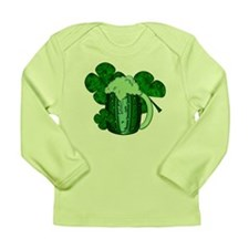 Saint Patrick's Day Green Beer Long Sleeve Infant