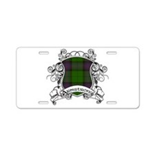 Armstrong Tartan Shield Aluminum License Plate