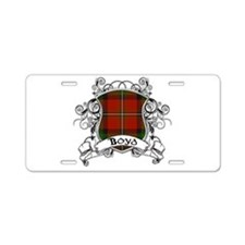 Boyd Tartan Shield Aluminum License Plate
