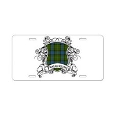 Ferguson Tartan Shield Aluminum License Plate