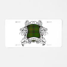 Kennedy Tartan Shield Aluminum License Plate