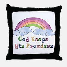 God Keeps His Promises Throw Pillow