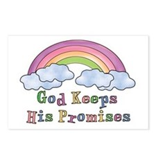 God Keeps His Promises Postcards (Package of 8)
