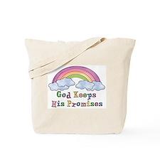 God Keeps His Promises Tote Bag