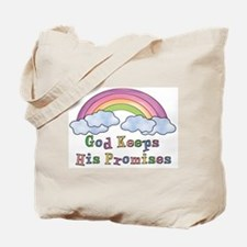 God Keeps His Promises Tote Bag