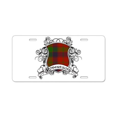 Robertson Tartan Shield Aluminum License Plate