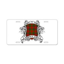 Sinclair Tartan Shield Aluminum License Plate
