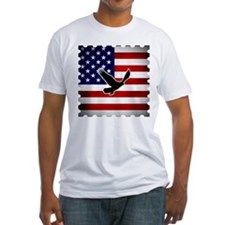 American Flag with Eagle Shirt