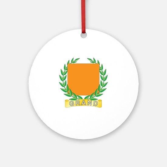 Grand Religion Ornament (Round)