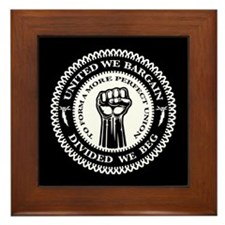 United We Bargain Framed Tile