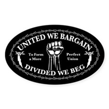 United We Bargain Decal