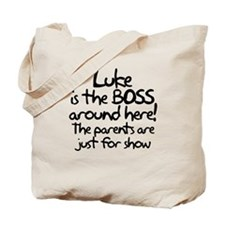 Luke is the Boss Tote Bag
