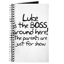 Luke is the Boss Journal