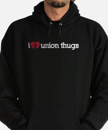I Love Union Thugs Hoodie (dark)