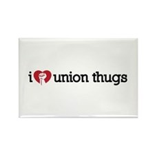 I Love Union Thugs Rectangle Magnet