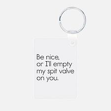 Spit Valve Keychains