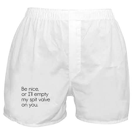 Spit Valve Boxer Shorts