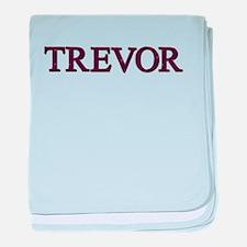 Trevor baby blanket