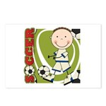 Boy Soccer Player Postcards (Package of 8)