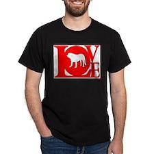Spanish Mastiff Black T-Shirt
