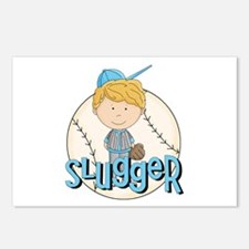 Baseball Slugger Postcards (Package of 8)