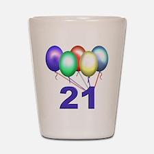 21 Gifts Shot Glass
