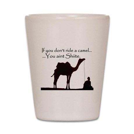 Shiite Camel Shot Glass
