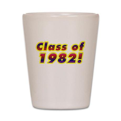 Class of 1982 Shot Glass