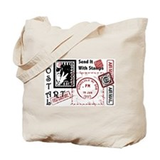 Single Image - Postal Art Tote Bag