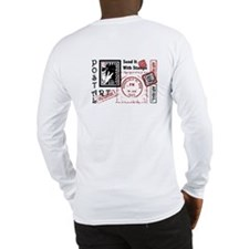 Single Image Postal Art Long Sleeve T-Shirt