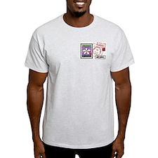Double Image - Plumeria Artistamp T-Shirt