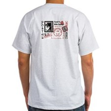 Double Image - Plumeria Artistamp T-Shirt