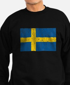 Vintage Sweden Flag Sweatshirt