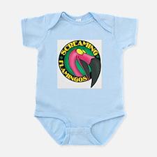 Screaming Flamingos Infant Creeper