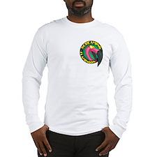 Screaming Flamingos Long Sleeve T-Shirt